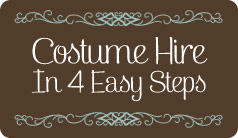 Costume Hire 4 Easy Steps