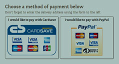 Costume Hire - Choose A Payment Method