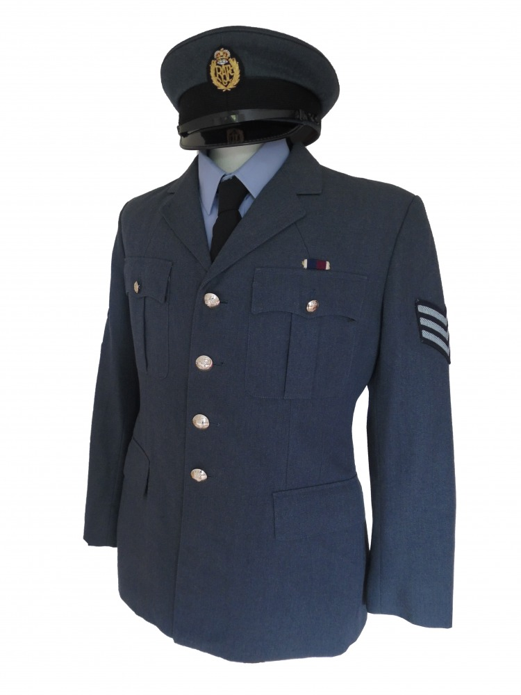 "Men's 1940s Wartime RAF Uniform Jacket Chest 40"" Image"