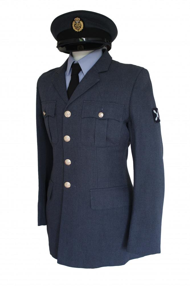 "Men's 1940s Wartime RAF Uniform Jacket Chest 38"" Image"