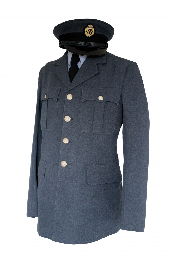 "Men's 1940s Wartime RAF Uniform Jacket Chest 34"" Image"