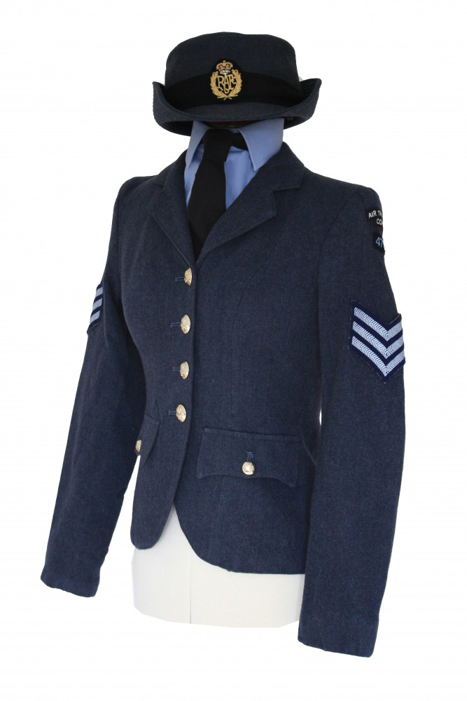 Ladies 1940s Wartime RAF Uniform Image