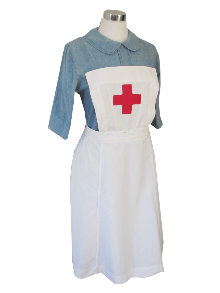 Ladies 1940s Wartime Nurse Costume Size 12 - 14 Image  sc 1 st  Complete Costumes & Ladies 1940s Wartime Nurse Costume Size 12 - 14 - Complete Costumes ...
