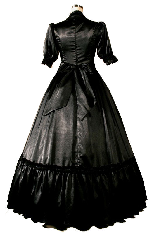Ladies Victorian Queen Victoria Gown - Complete Costumes Costume Hire