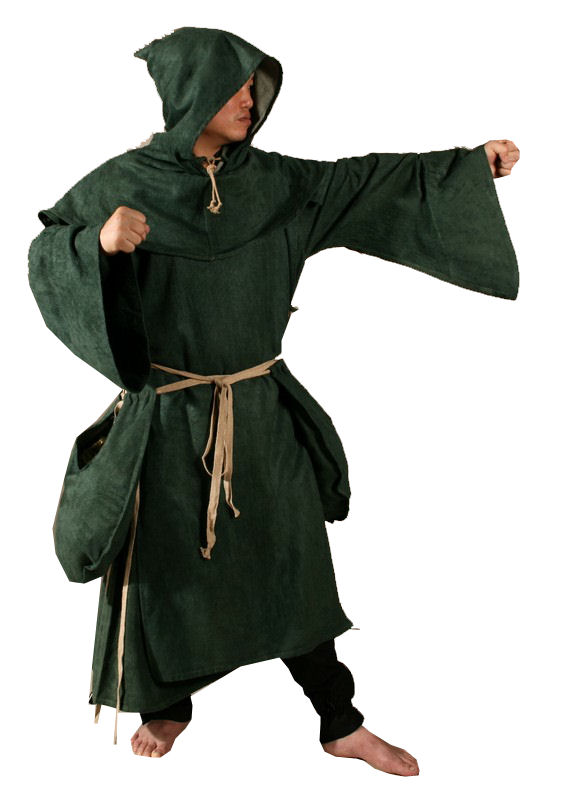 Mens Medieval Monk Robin Hood Costume Image