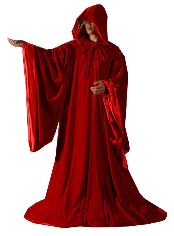 Mens Medieval Cloak Christmas Costume Image
