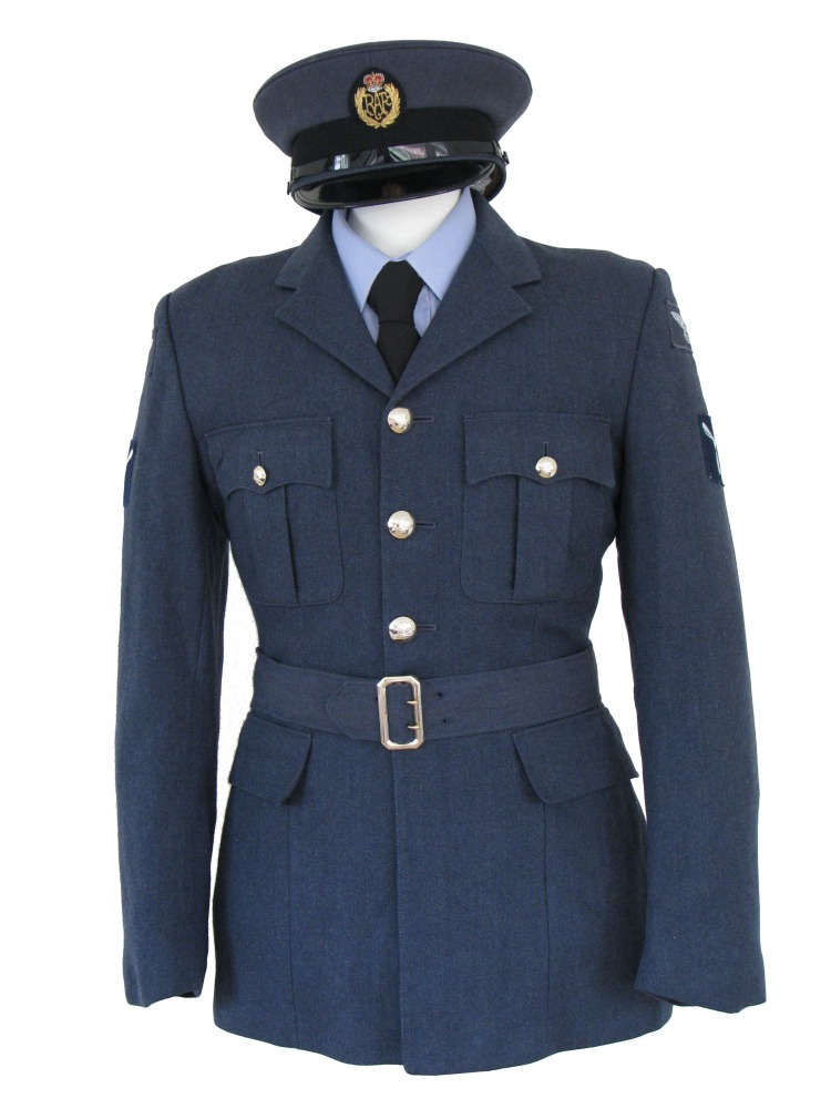"Men's 1940s Wartime RAF Uniform Jacket Chest 38"" Image"