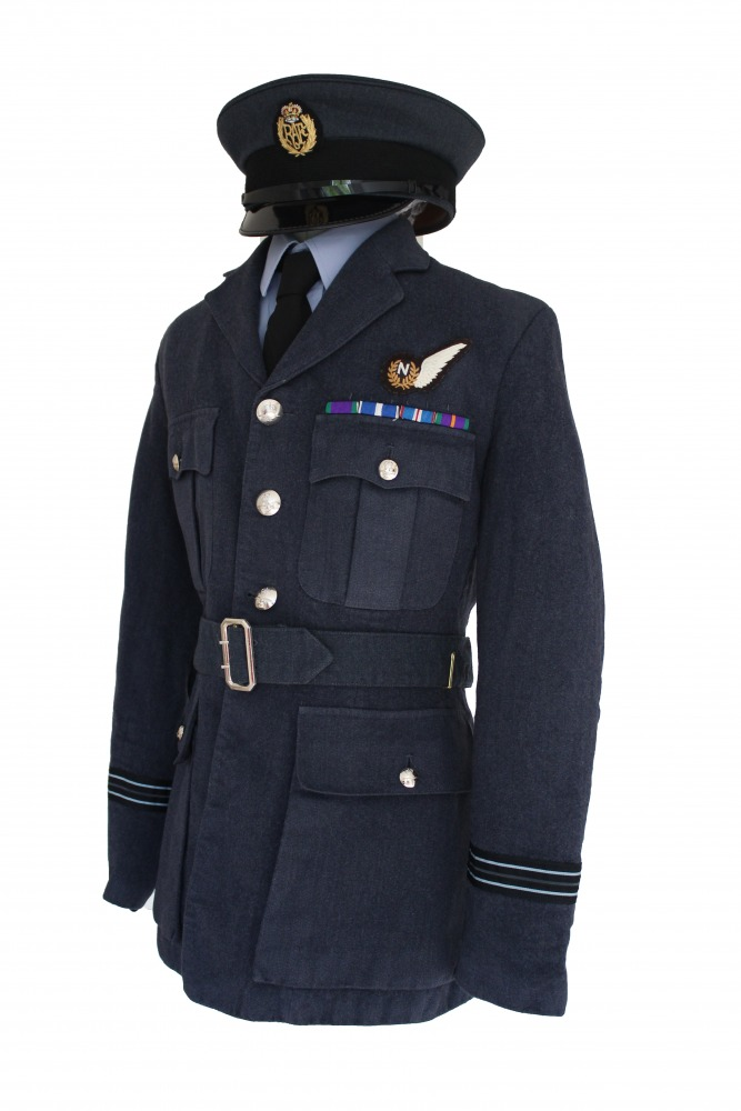 "Men's 1940s Wartime RAF Uniform Jacket Chest 36"" Image"