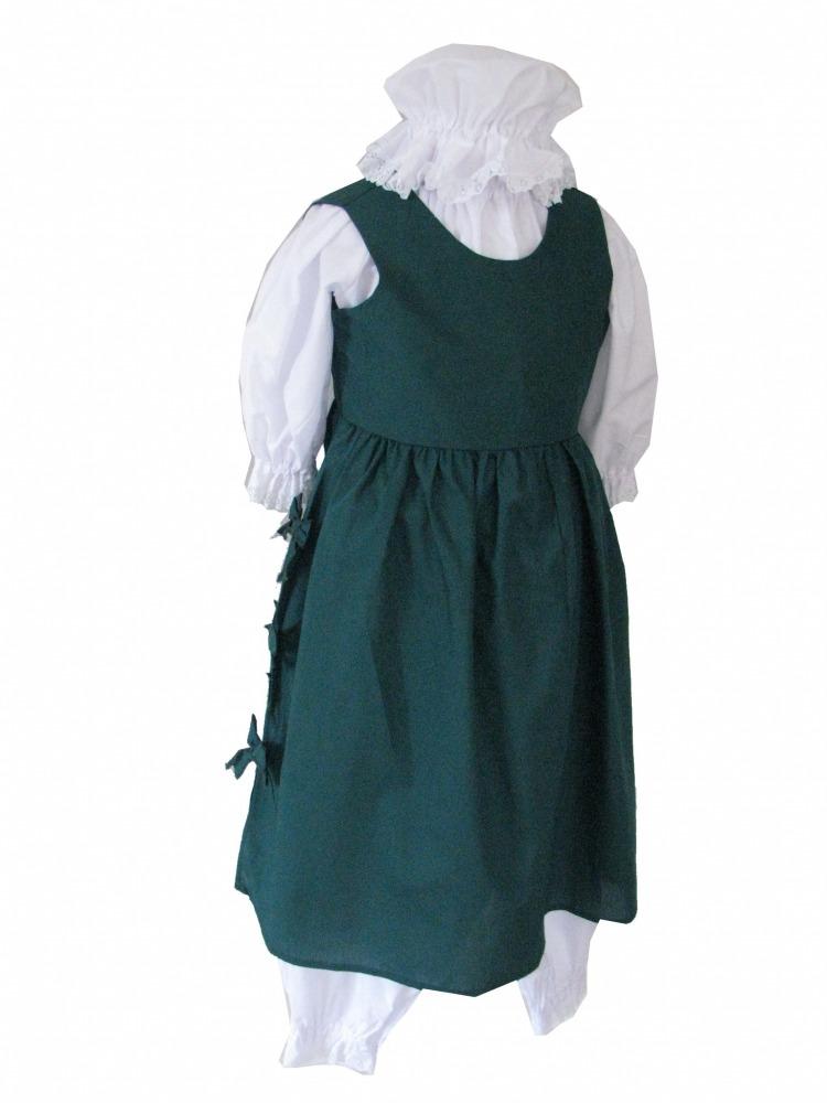 School Girl Pinafore Fancy Dress