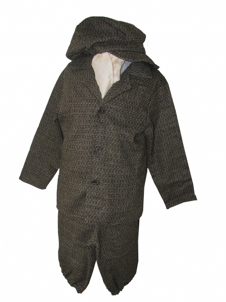 Boys Victorian Edwardian Oliver Twist Fancy Dress Costume Image