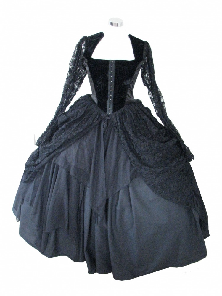 Ladies 18th Century Marie Antoinette Masked Ball Victorian Costume Size 8 - 10 Image