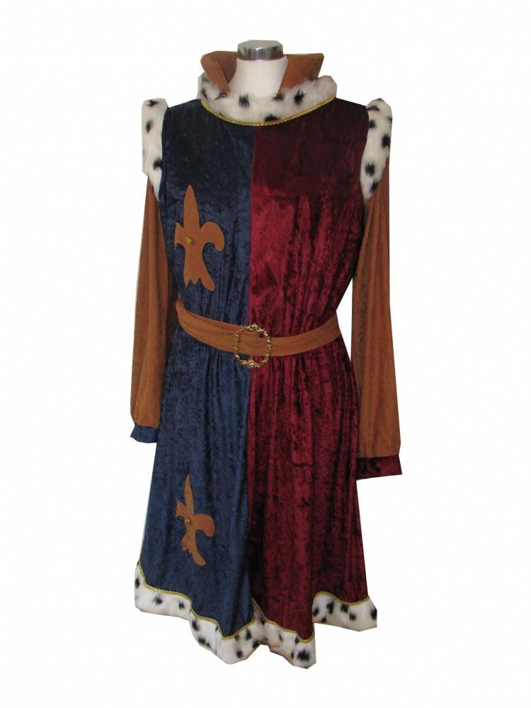 Mens Medieval Tudor Costume Image