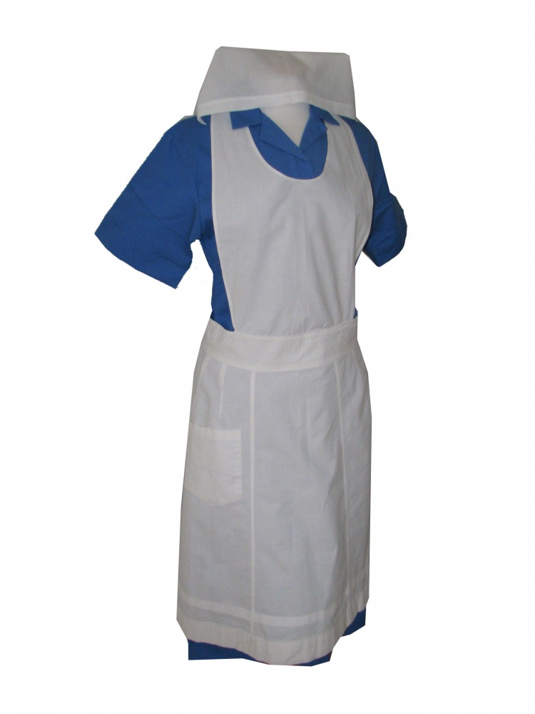 Ladies 1940s Wartime G I Nurse Costume Size 10 - 12 Image