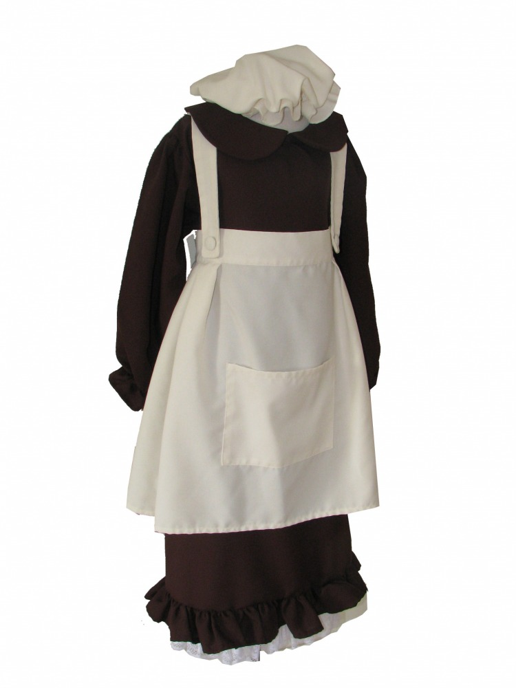 Girls' Victorian Costume Image