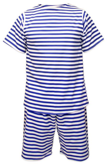 Men's Victorian Edwardian Bathing Suit Size XXL Image