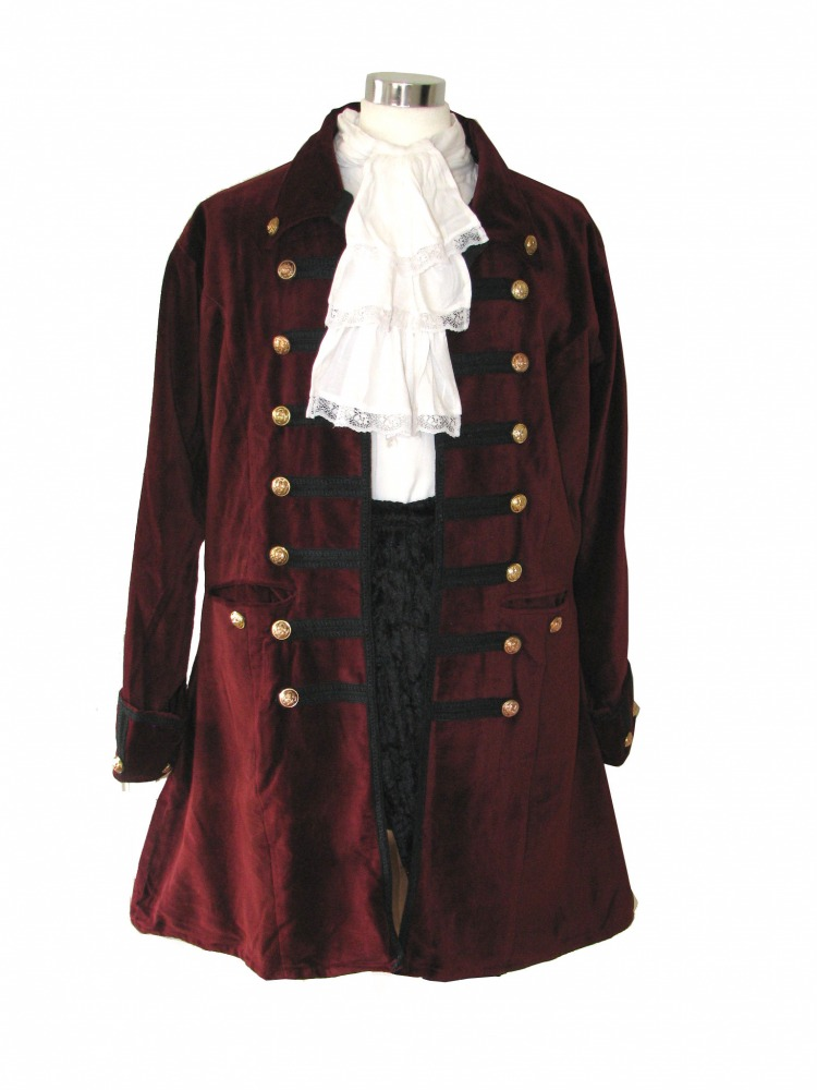 Men's Deluxe 18th Century Masked Ball Costume Size Large Image