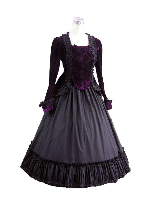 Ladies Victorian Edwardian Day Costume Image