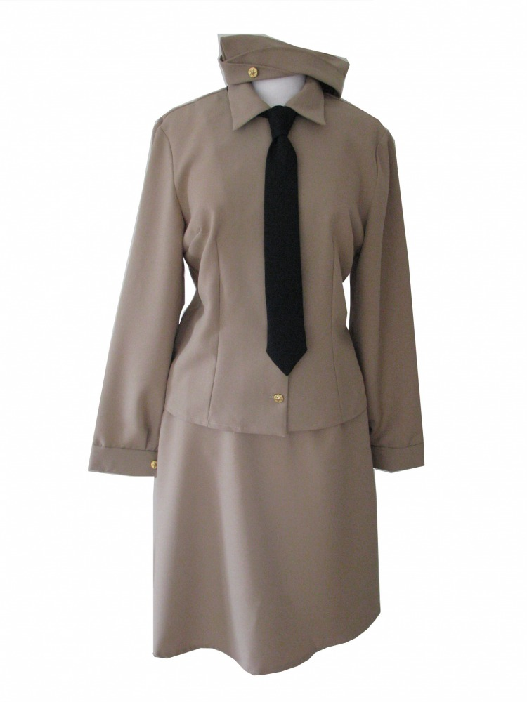Ladies 1940s Wartime Andrews Sisters Costume Size 22-24 Image