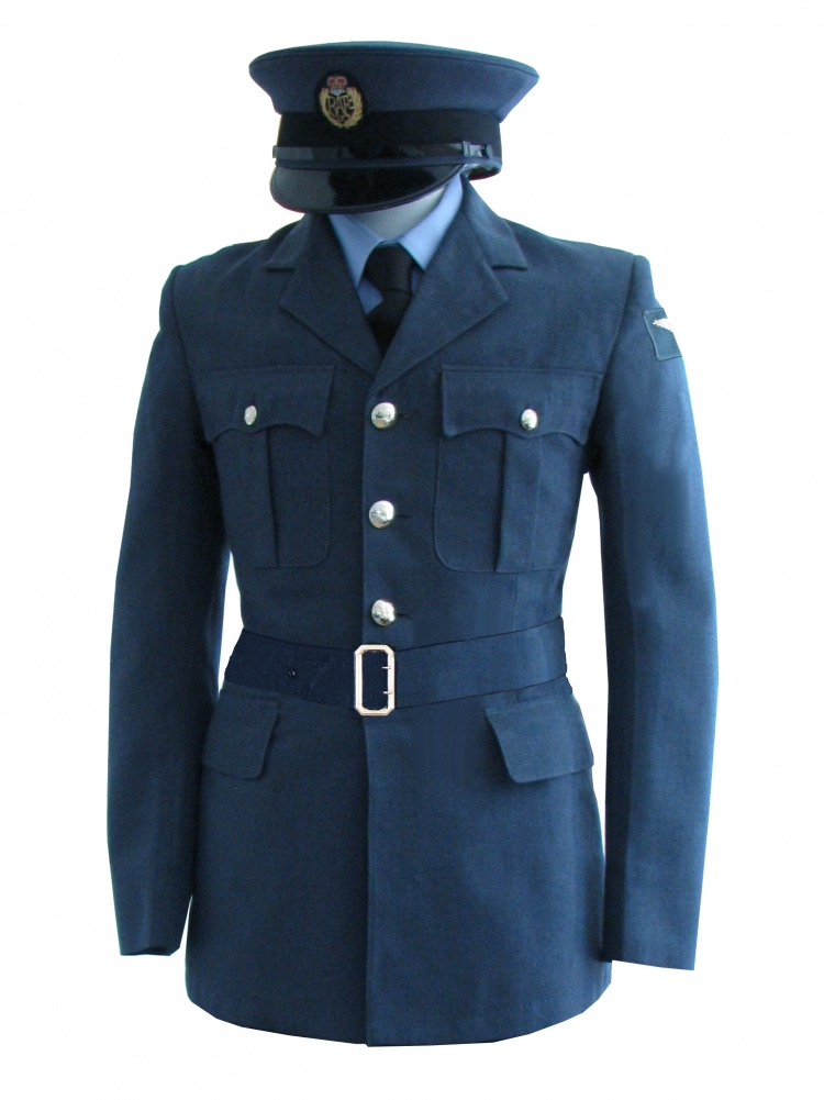 "Men's 1940s Wartime RAF Uniform Jacket Chest 36"" Image"