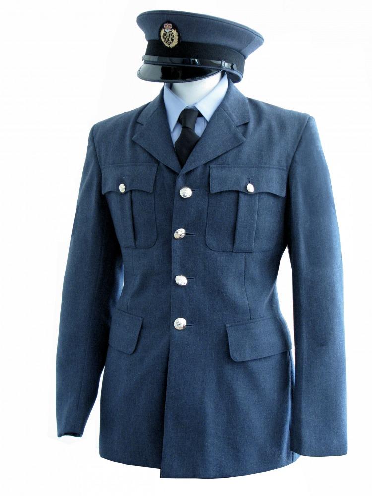 "Men's 1940s Wartime RAF Uniform Jacket Chest 32"" Image"