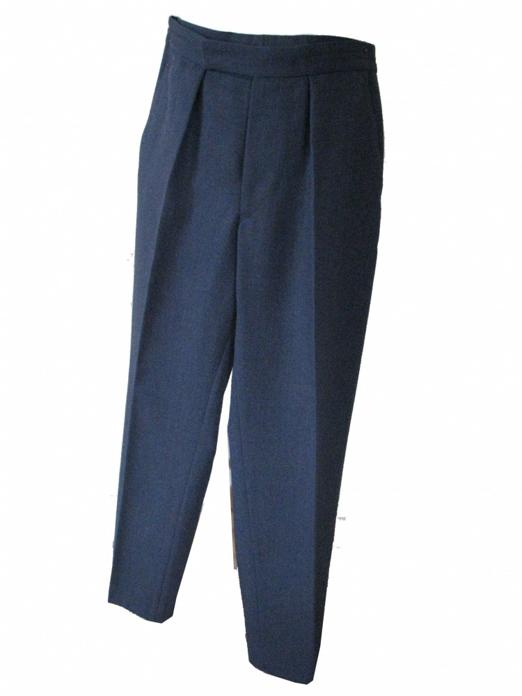 "Men's 1940s Wartime RAF Royal Air Force Trousers Waist 30"" Inside Leg 28"" Image"