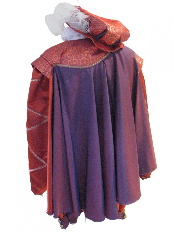 Men's Tudor Elizabethan Sir Walter Raleigh Costume Image