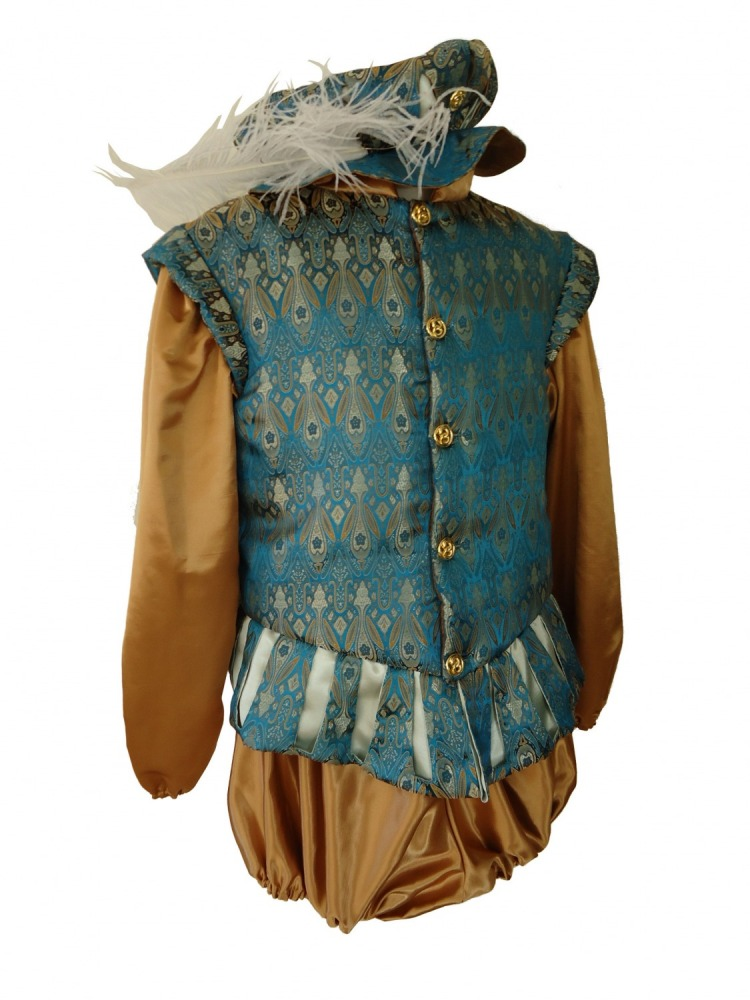 Men's Medieval Tudor Costume Image