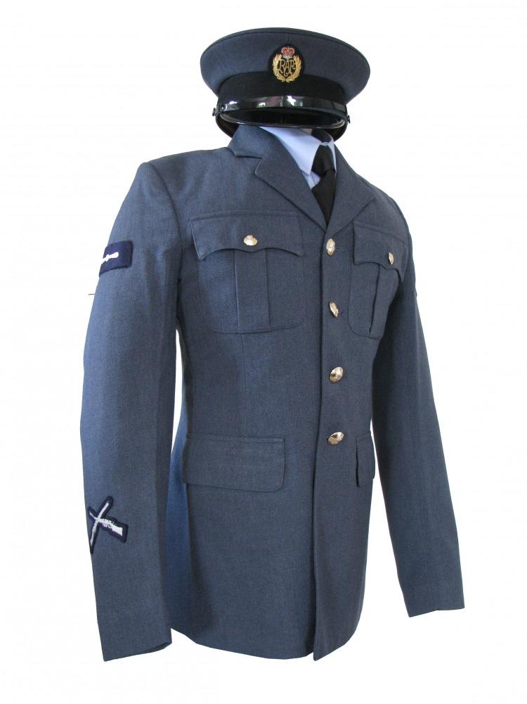 Men S 1940s Wartime Raf Uniform Jacket Complete Costumes