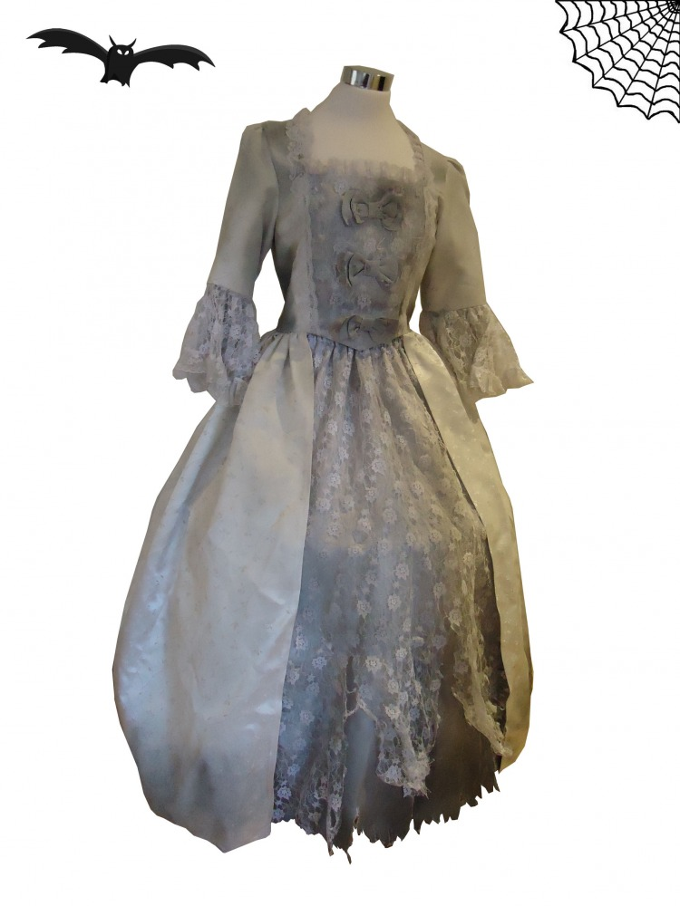 Ladies 18th Century Marie Antoinette Masked Ball Hallowe'en Costume Size 8 - 10 Image