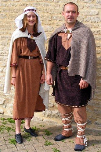 Ladies Saxon Viking Costume Image