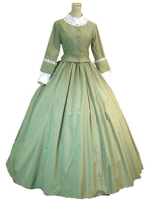 Ladies Victorian Day Costume Image
