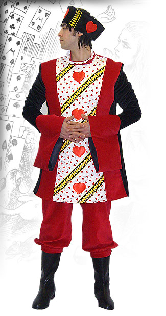 Men's Alice In Wonderland King of Hearts Costume Image