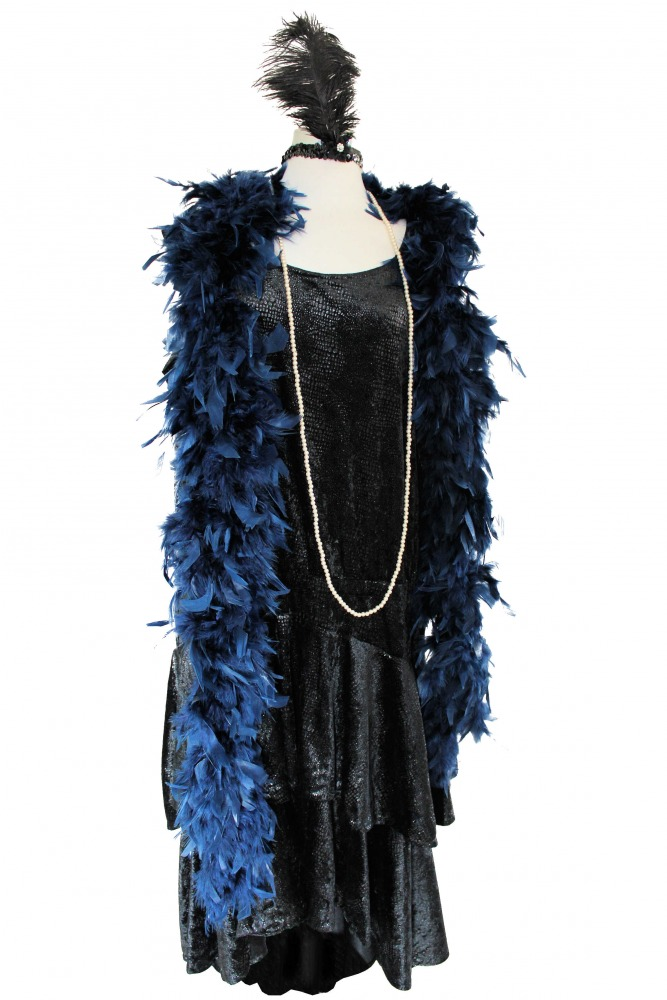Ladies 1920s 1930s Flapper Charleston Costume Size 16 - 20 Image
