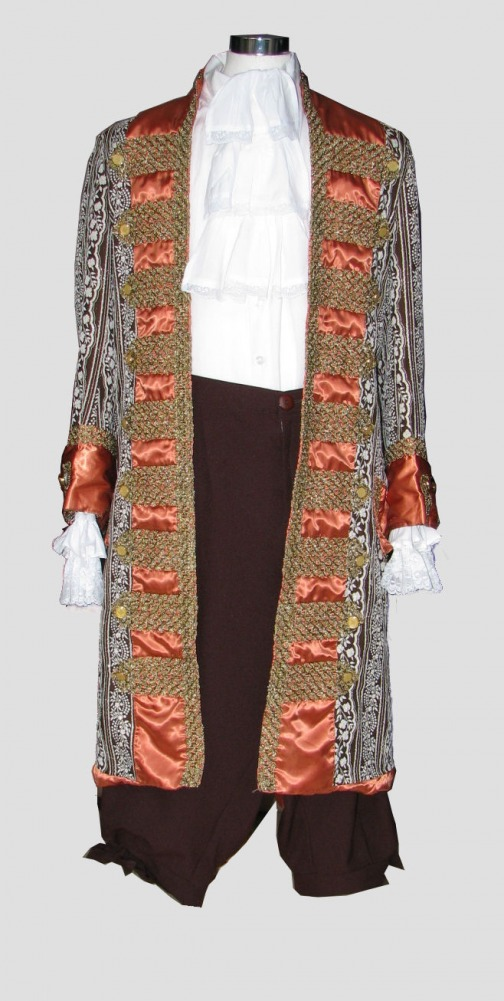 Men's 18th Century Masked Ball Costume Image