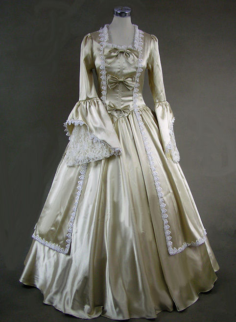 Ladies 18th Century Marie Antoinette Masked Ball Costume  Image