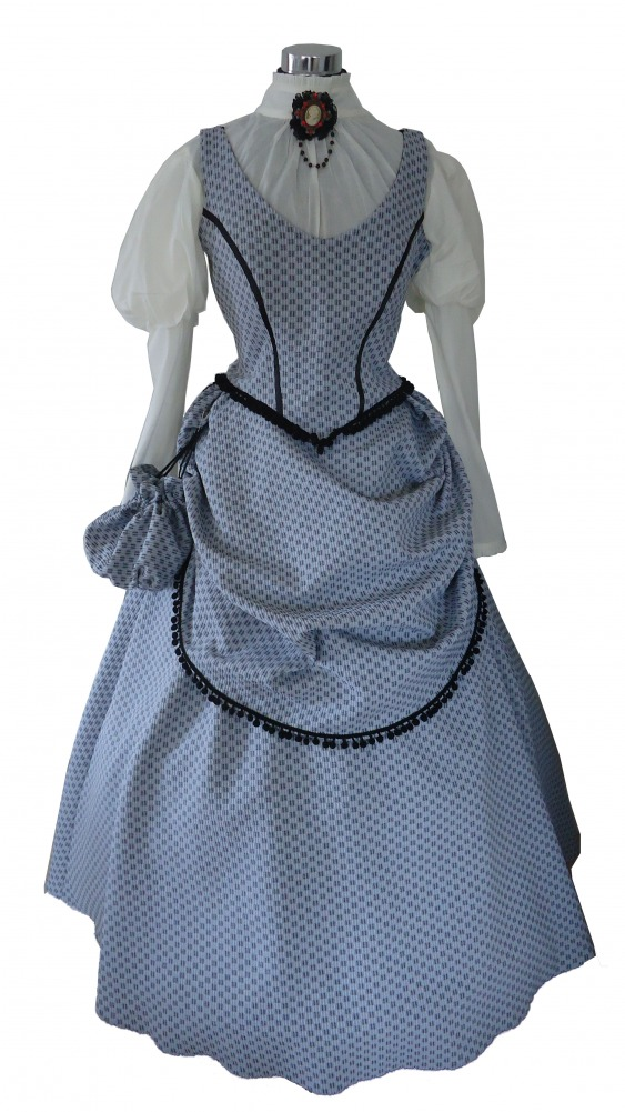 Ladies Victorian Edwardian Day Costume Size 14 - 16 Image