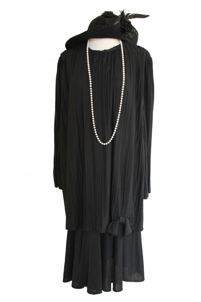 Ladies 1920s 1930s Flapper Charleston Costume Complete
