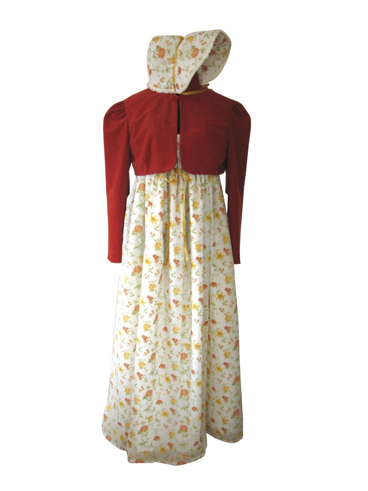 Ladies 18th 19th Century Jane Austen Costume Size 14 - 16 Image