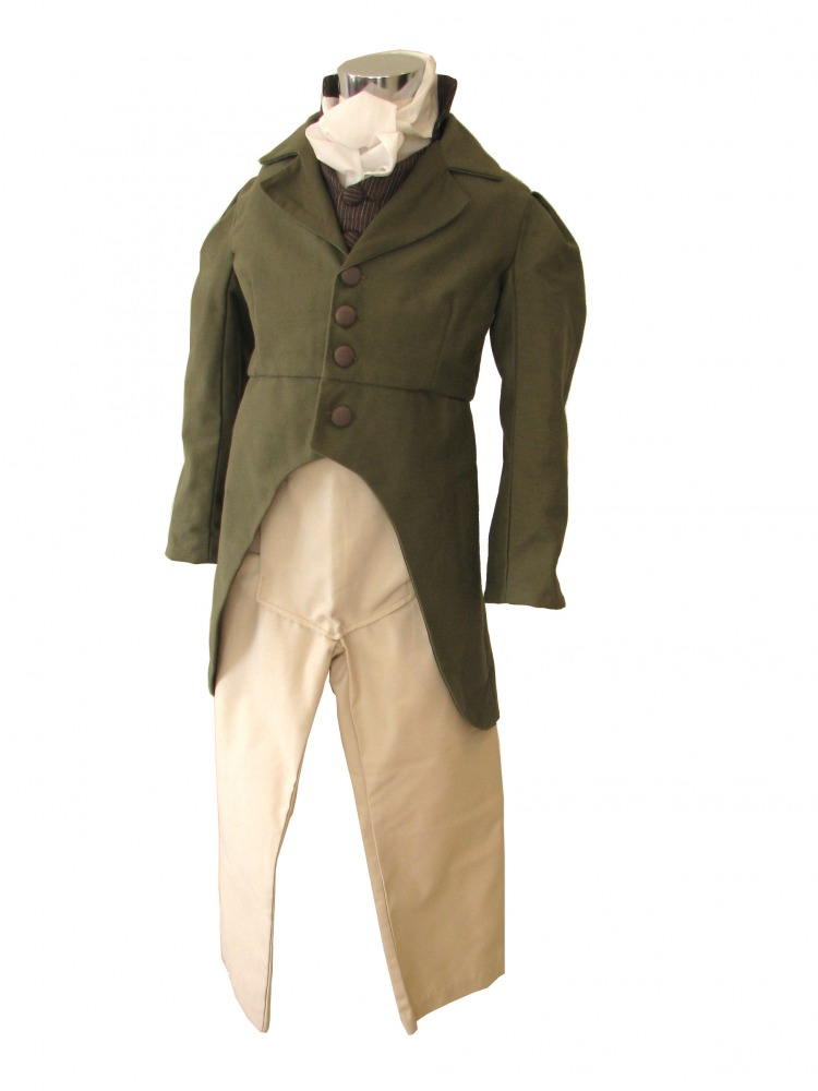 Boy's Deluxe Regency Mr. Darcy Costume Age 7 - 8 Years Image