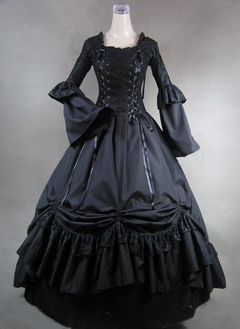 Ladies Victorian Day Costume Size 8 - 10 Image