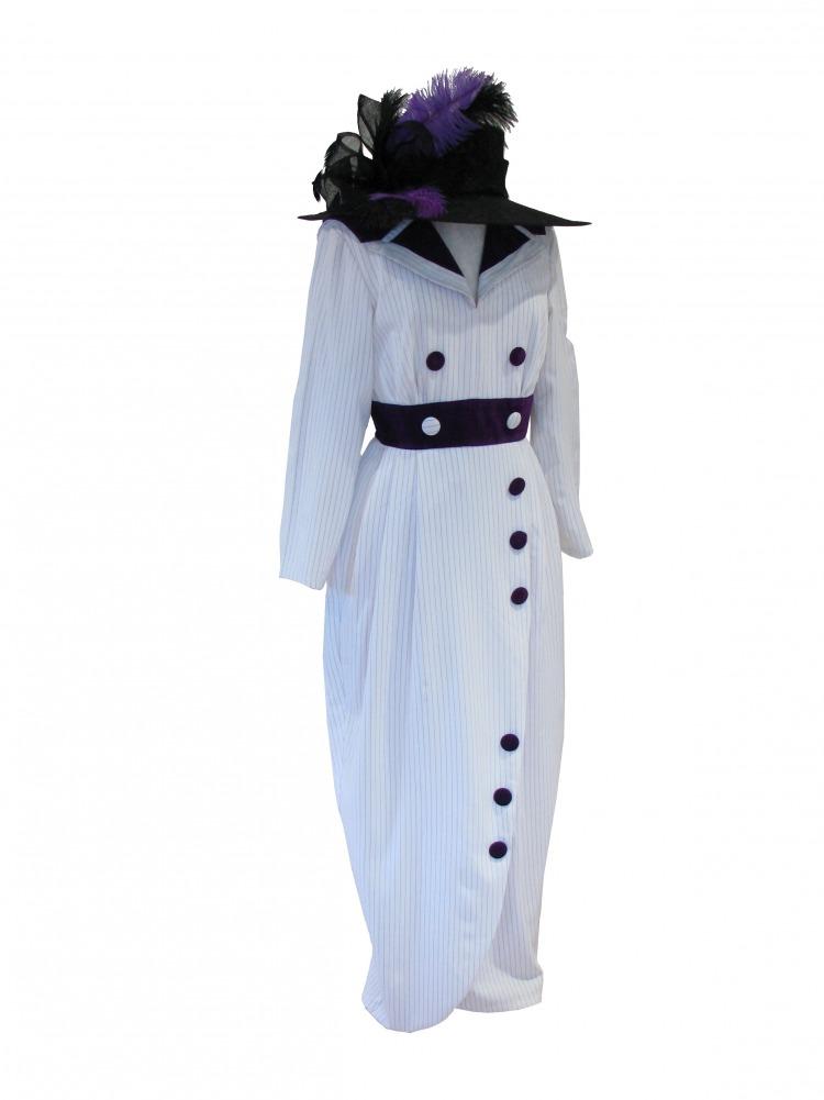 Ladies Edwardian Titanic Downton Abbey Costume Size 10 - 12 ...