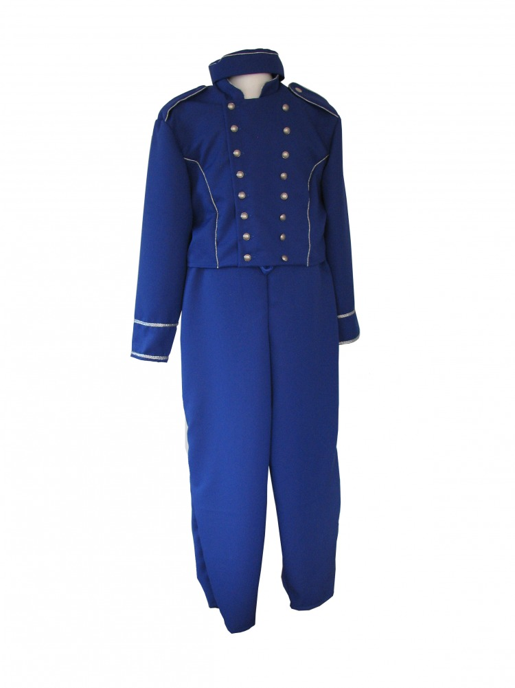 Men's Buttons Bell Boy Pantomime Costume Image