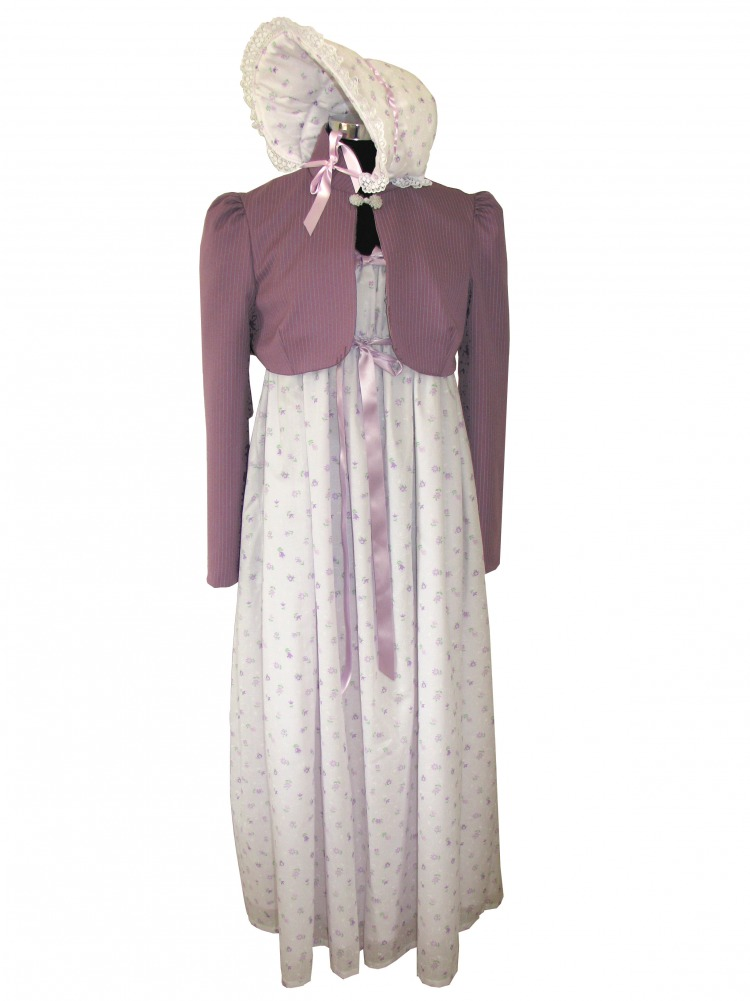 Ladies 19th Century Regency Jane Austen Costume Size 18 - 20 Image