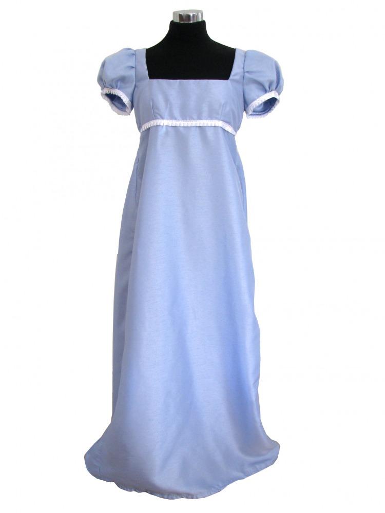 Ladies 19th Century Regency Jane Austen Ball Gown Size 8 - 10 ...