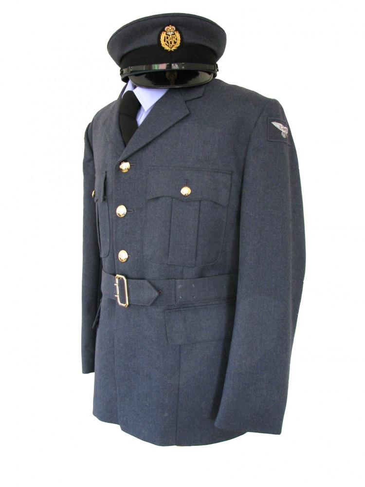 "Men's 1940s Wartime RAF Uniform Jacket Chest 42"" Image"