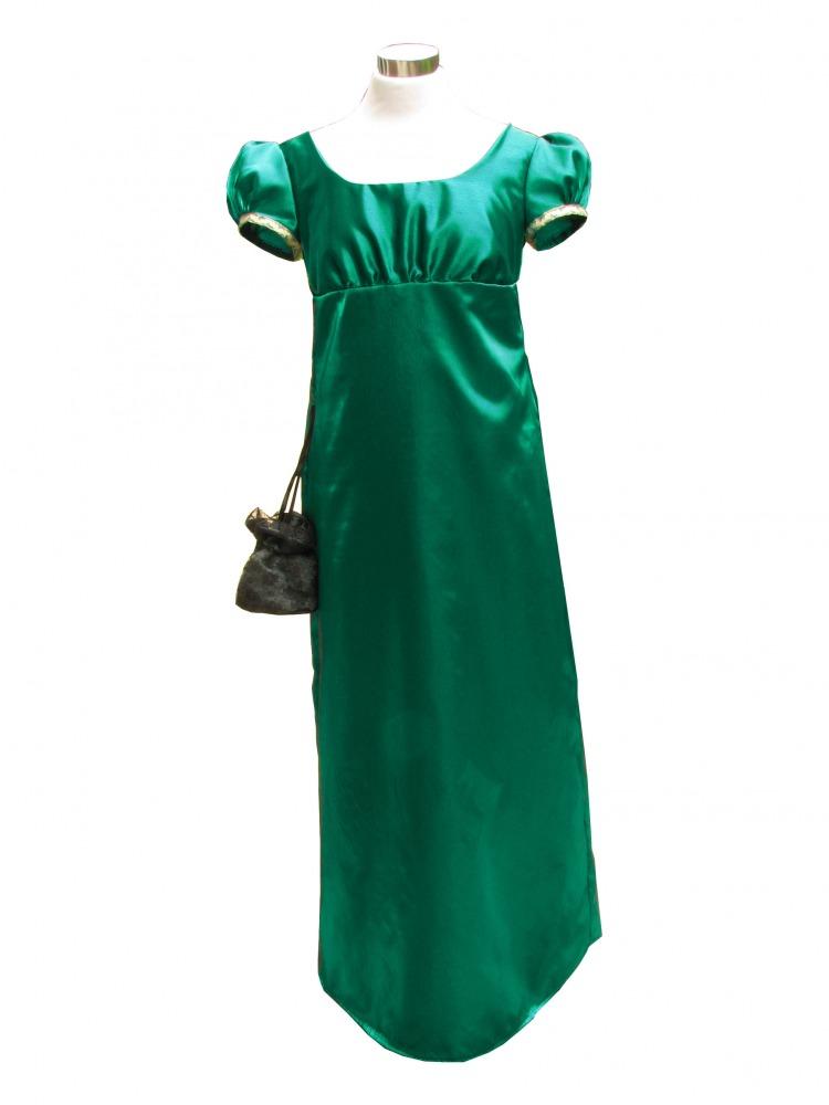 Ladies 19th Century Jane Austen Regency Evening Ball Gown Size 20 ...