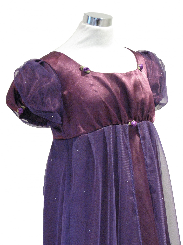 786e87ae697b Ladies 19th Century Jane Austen Regency Evening Ball Gown size 12 - 14 Image