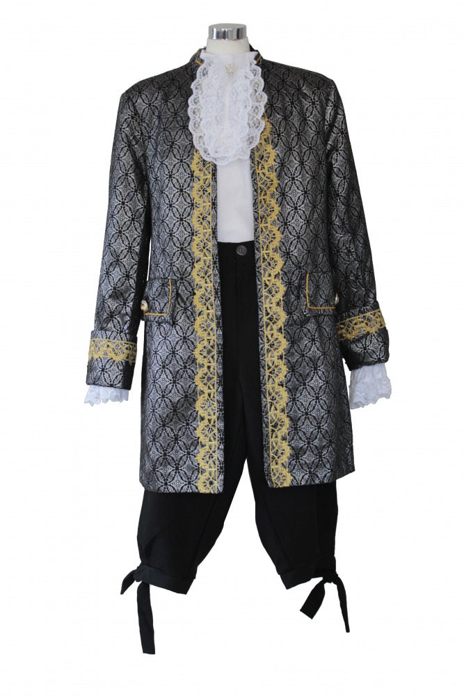 Men S Deluxe 18th Century Masked Ball Costume Complete Costumes