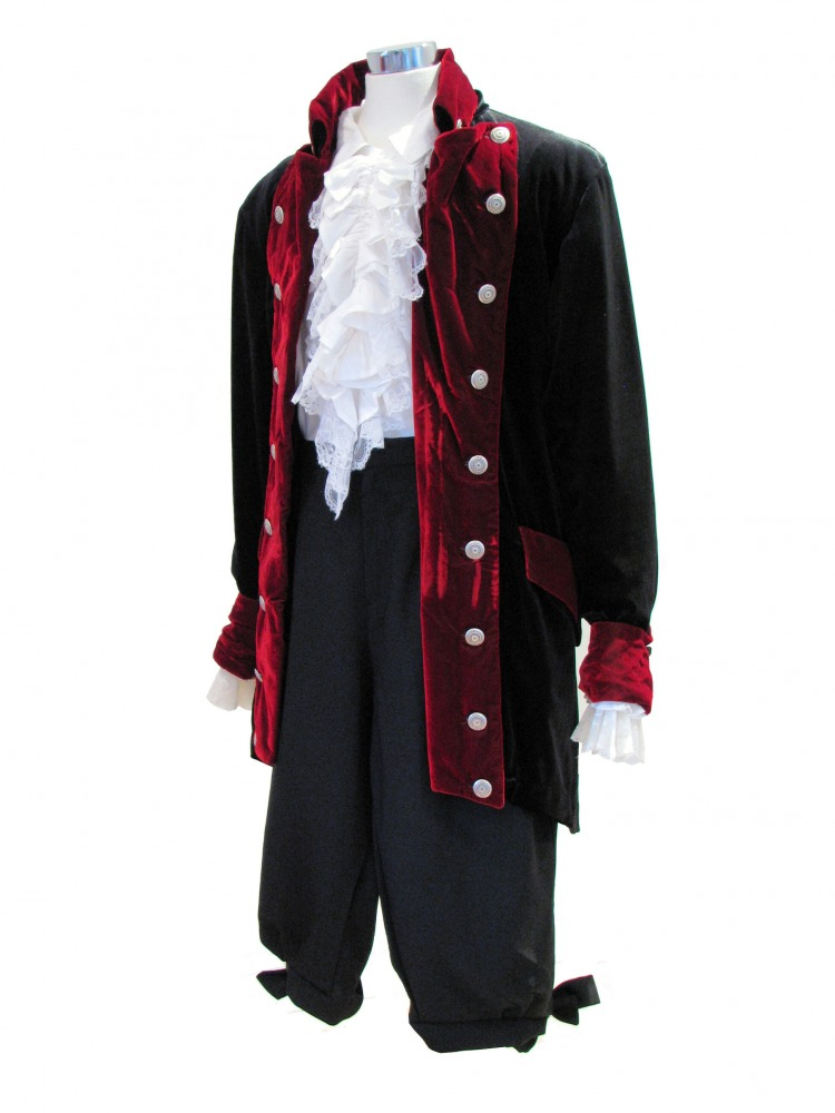 Mens\'s 18th Century Georgian Masked Ball Costume - Complete Costumes ...