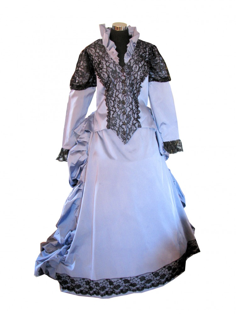 Ladies Deluxe Victorian Evening Ball Gown Size 14 16 Complete